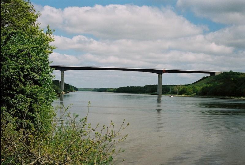 Hohenhörn, A23, Nord-Ostsee-Kanal