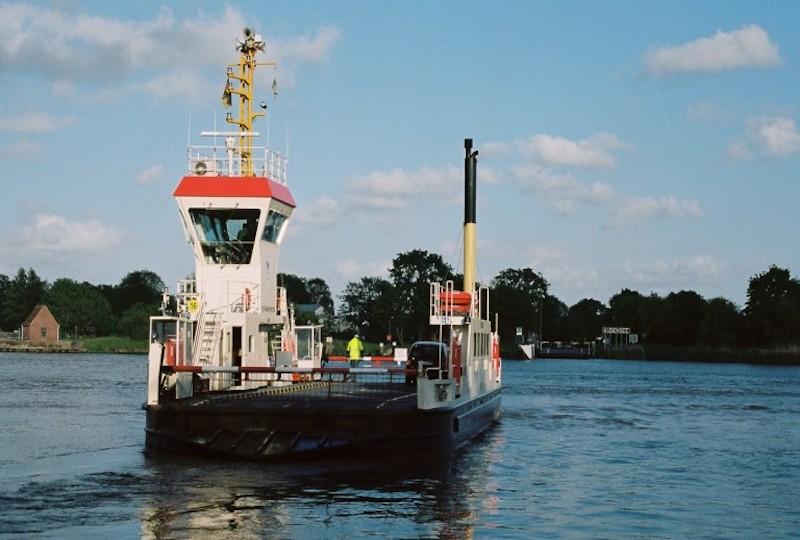 Kudensee, Fähren Nord-Ostsee-Kanal, Flüsse und Kanäle Schleswig-Holstein