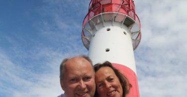 Heiraten auf dem Leuchtturm Falshöft  © Monika Hartmann