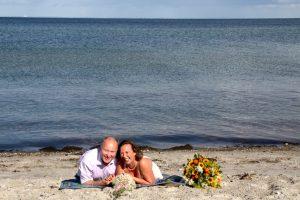 Heiraten auf dem Leuchtturm Falshöft |© Monika Hartmann