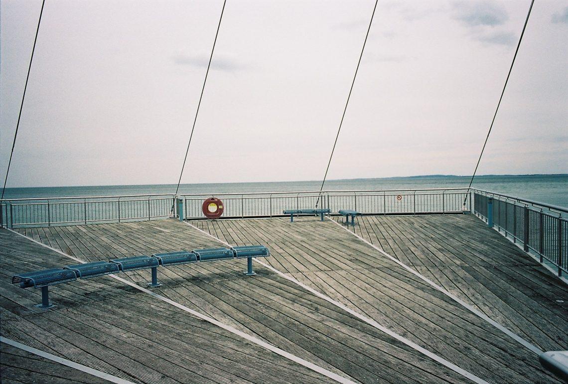 Seebrücke Flunder in Hohwacht   © weites.land