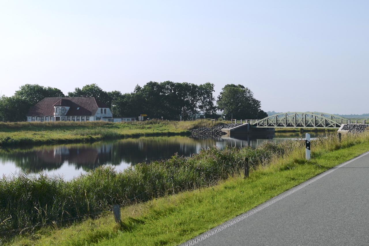 Bongsieler Kanal, Kanäle Schleswig-Holstein, Ockholm,