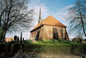 historische Kirchen auf Eidersted |©weites.land