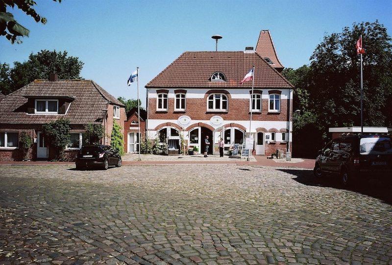 Garding auf Eiderstedt in Nordfriesland