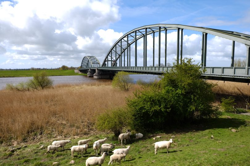 Eiderbrücke bei Friedrichstadt an der alten B 5 |© weites.land