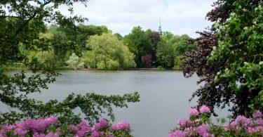 Am Schreventeich im Schrevenpark Kiel –Seen in Schleswig-Holstein |©weites.land