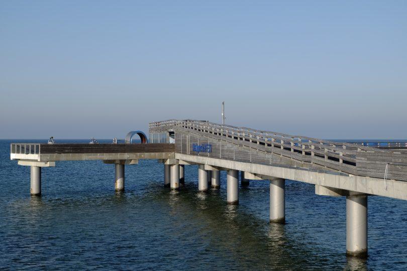 Seebrücke Heiligenhafen |©weites.land
