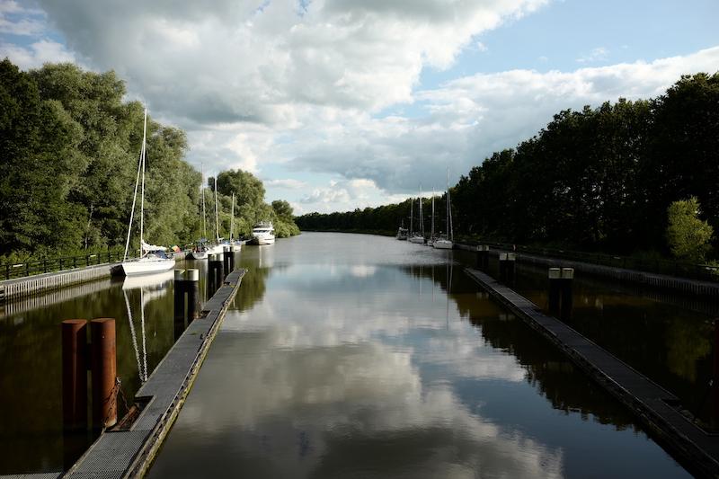 Gieselau Kanal, Mittelholstein, Oldenbüttel, Gemeinden in Schleswig Holstein