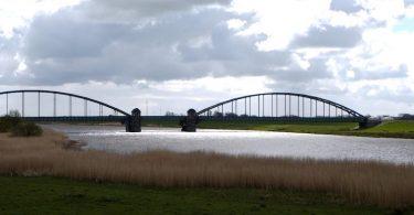 Eiderbrücke bei Friedrichstadt
