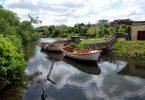 Schwentine bei Neumühlen - Dietrichsdorf (Kiel) –Flüsse in Schleswig-Holstein |©weites.land