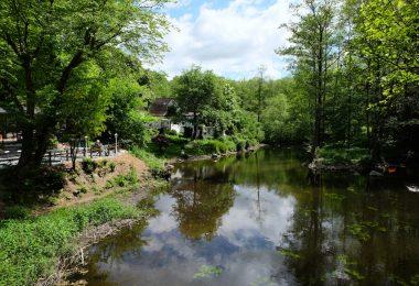 Schwentine an der Oppersdorfer Mühle –Flüsse in Schleswig-Holstein  ©weites.land