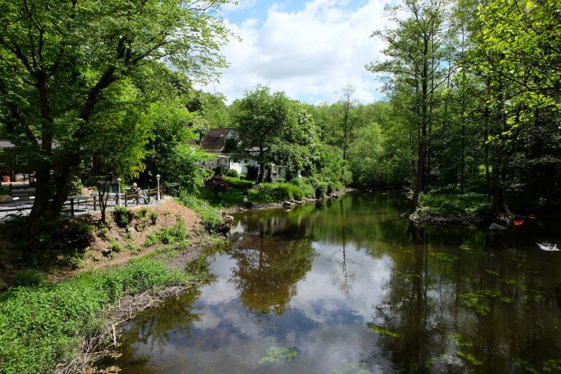 Schwentine an der Oppersdorfer Mühle –Flüsse in Schleswig-Holstein |©weites.land