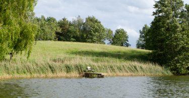Achtersee (Middelburger Seen) – Seen in Schleswig-Holstein   © weites.land