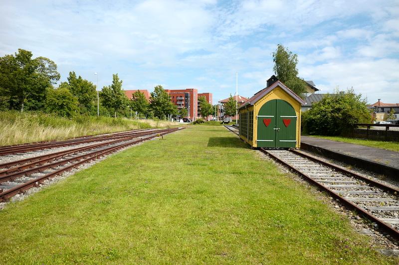 Bahnhof Apenrade, Aabenraa, Åbenrå, Dänemark, Denmark, Danmark
