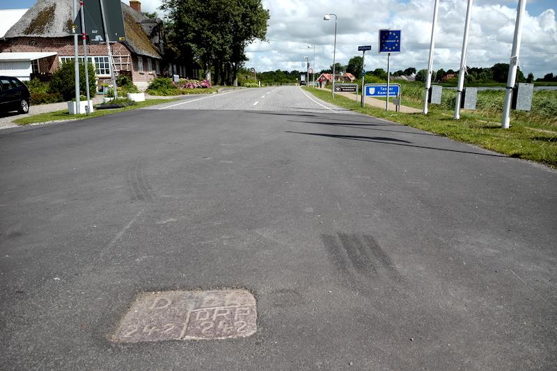 Grenzübergang Rosenkranz-Rudbøl, Grænseovergang Rudbøl-Rosenkranz