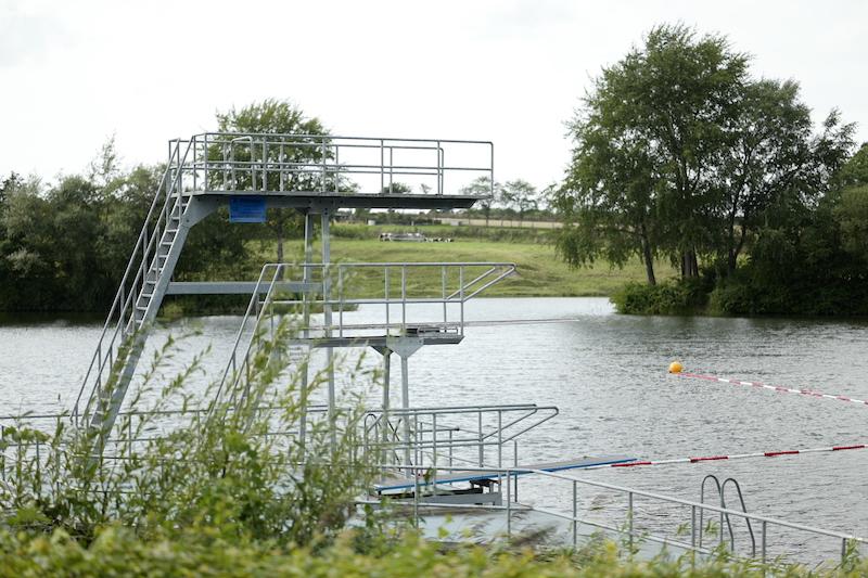 Naturfreibad Ladelund, Ladelunder Mergelkuhle, Seen in Schleswig-Holstein
