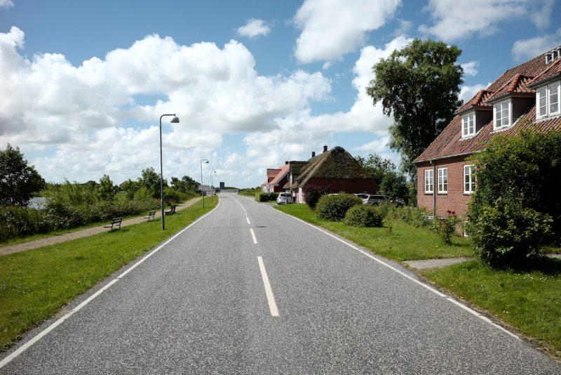Rudbøl, Gemeinden entlang der Grenze Dänemark-Deutschland