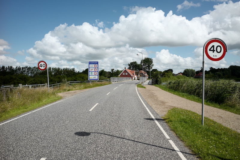 Rudbøl, Rosenkranz, Grenzübergang Rosenkranz Rudbøl, Grænseovernage Tyskland Danmark