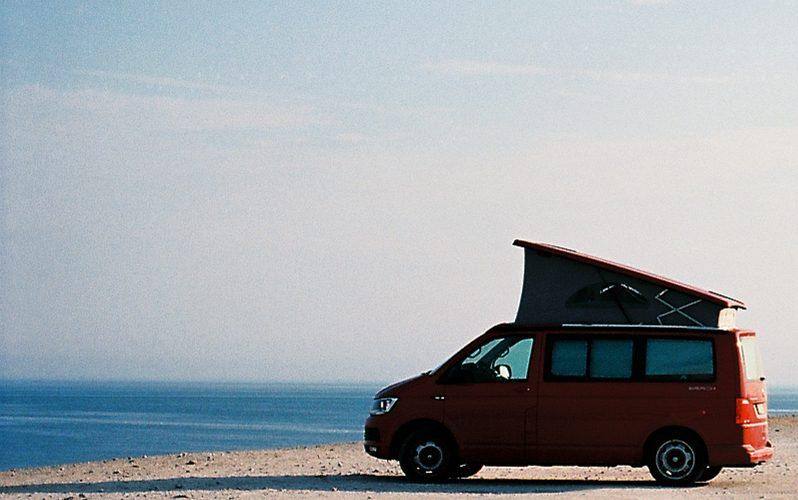 Raukar-Route Diggerhuvud mit VW T6 California Beach 4 Motion | © weites.land
