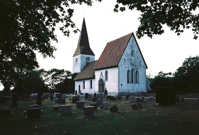 Kirche Fröel, Gotland  ©weites.land
