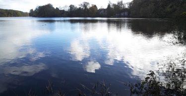 Mühlenteich in Glücksburg – Seen in Schleswig-Holstein | © weites.land