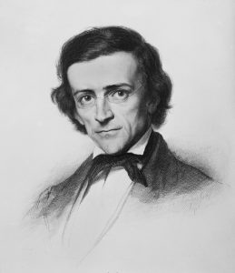 Theodor Mommsen (Stich von Louis Jacoby, 1863)