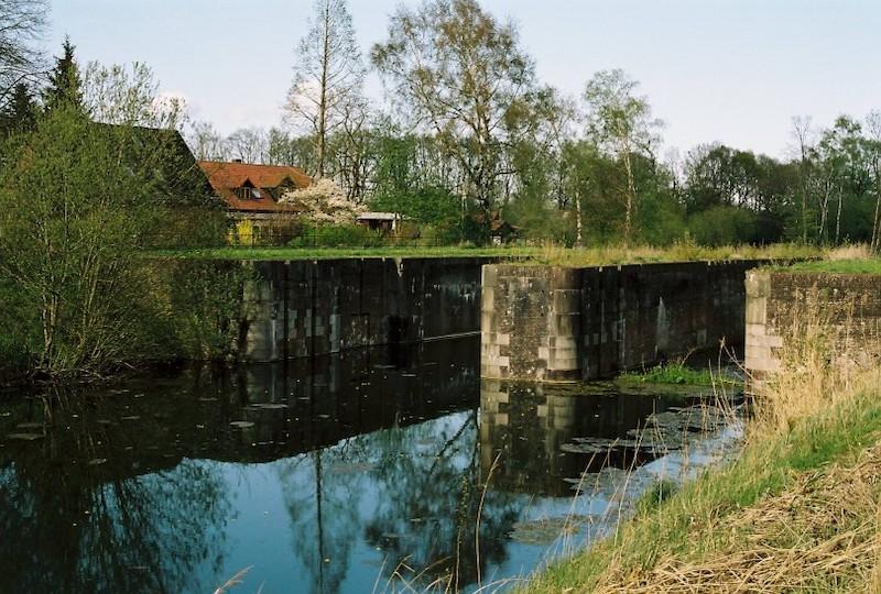 Alter Eiderkanal, Flüsse und Kanäle in Schleswig-Holstein