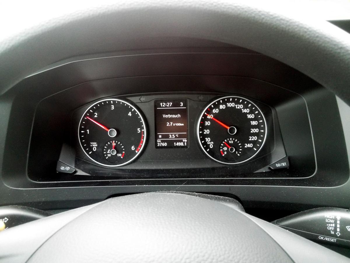 Untertouriges Fahren