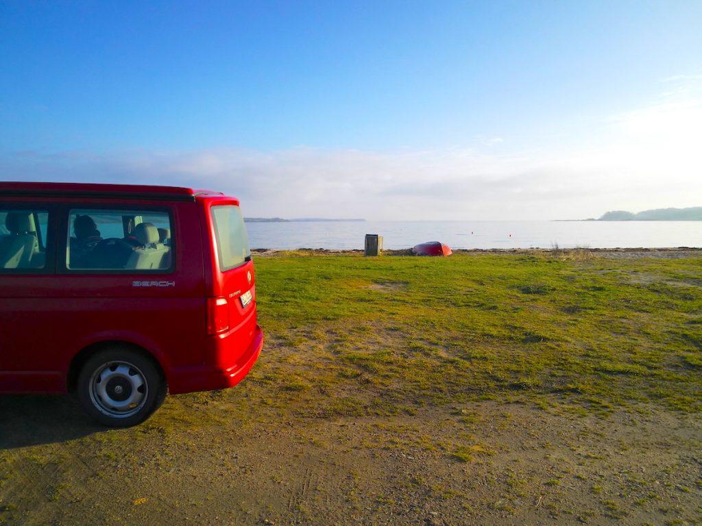 Der VW T6 Multivan mit Aufstelldach heißt jetzt California Beach |©weites.land