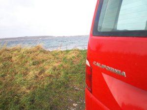 VW T6 California Beach 4 Motion auf der Insel Als in Dänemark |©weites.land