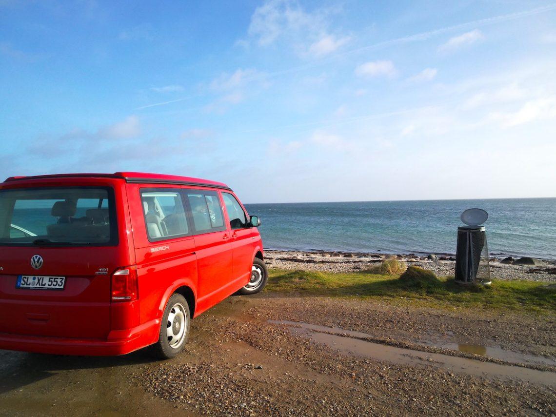 Einmal umsteigen: vom VW T3 Multivan LLE auf den VW t6 California Beach 4Motion |©weites.land