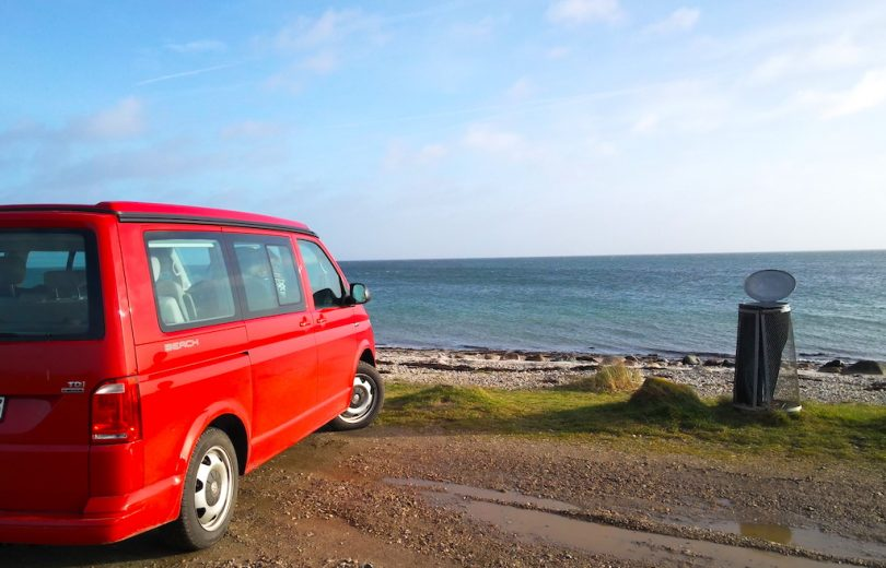 Einmal umsteigen: vom VW T3 Multivan LLE auf den VW t6 California Beach 4Motion  ©weites.land