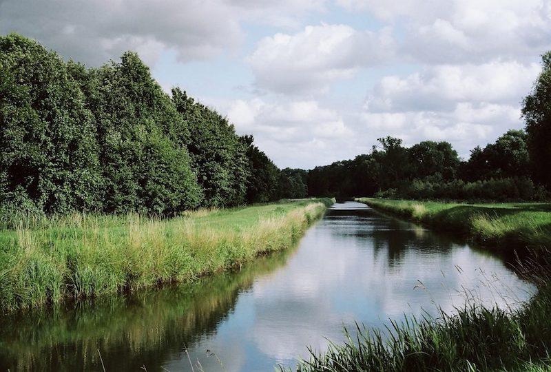 Johannisbek Randkanal, Flüsse und Kanäle in Schleswig-Holstein |©mare.photo