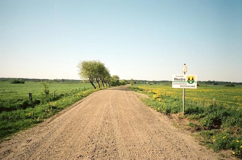 Grenzübergang Westre-Lydersholm, aufgenommen mit Leica M7 und Elmarit M 2.8 28 asph. new auf Kodak Portra 160 |©mare.photo