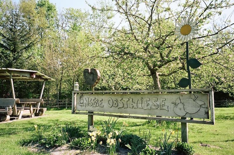 Unsere Obstwiese, Jardelund, Grenzroute Deutschland Dänemark,