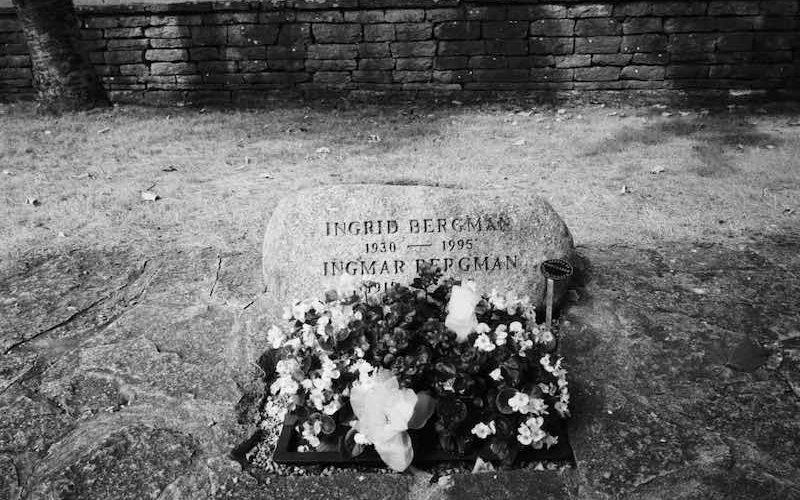 Grabstein Ingmar Bergmann | © mare.photo