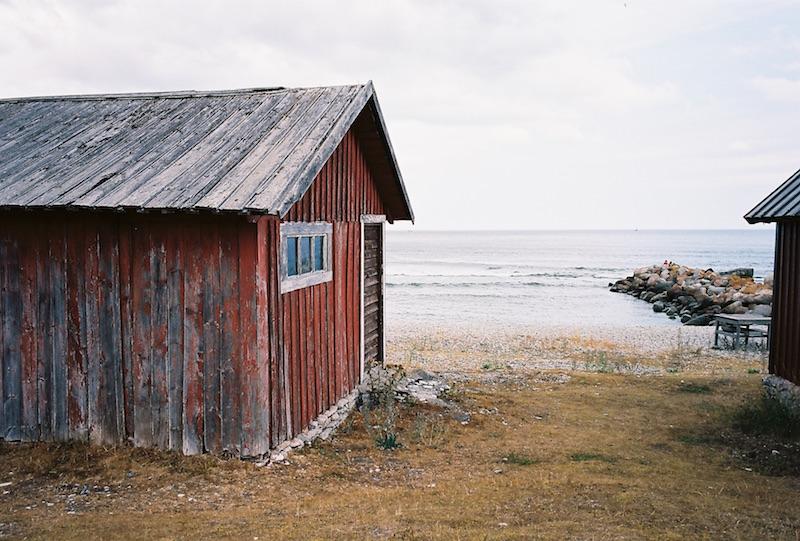 Fiskeläge (Fischerstelle) Hallhuk, Gotland |©mare.photo