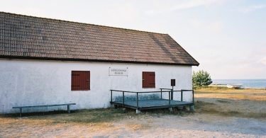 Seerettungsmuseum (Sjöräddnungsmuseet) Ekeviken auf Fårö