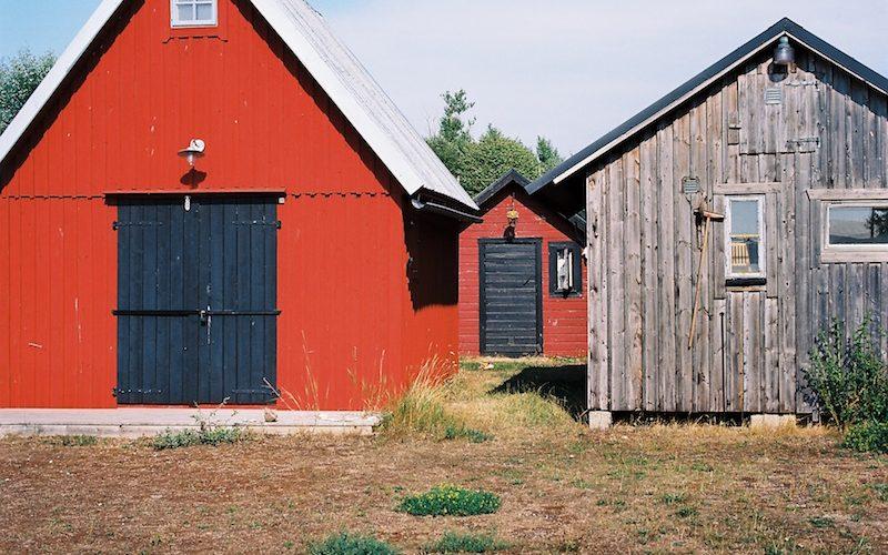 Fiskeläge (Fischerstelle) Klintehamn, Gotland  ©weites.land