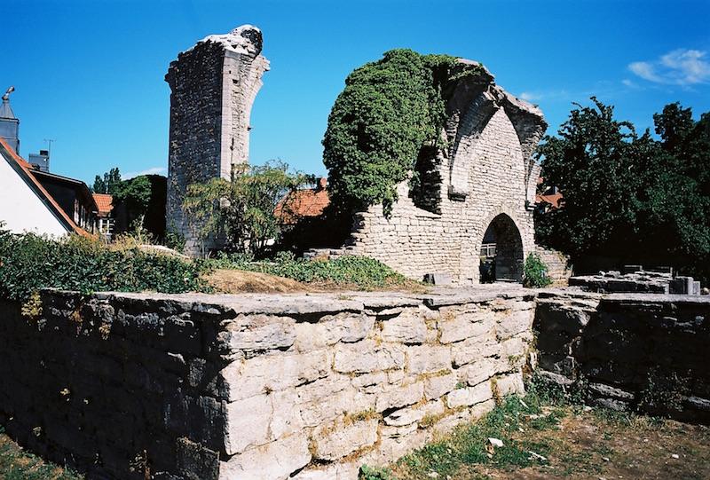 St. Hans Ruine Visby, Gotland  ©weites.land
