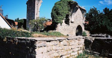 Kirchenruine St.Hans in Visby auf Gotland – Kodak Ektar |©mare.photo