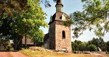 Kirche Föglö auf Åland |©mare.photo