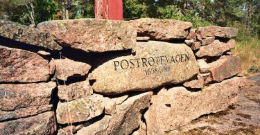 Postweg auf Åland | © mare.photo