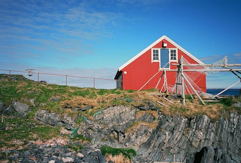 Slettnes Fyr, Nordkinn, Nordkyn, Gamvik, Bartenssee, Barentssea, Barentssjø, Kodak Ektar, Leica M Elmarit 2.8 28 asph. |©mare.photo