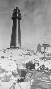 Kjølnes Fyr Berlevåg, Juli 1929