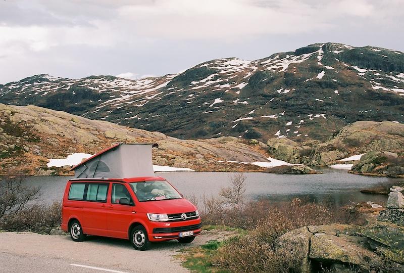 Saudafjell, VW T6 California Beach 110 KW 4 Motion, Ryfylke, Kodak Ektar, Leica Elmarit M 2.8 28 asph.|©mare.photo