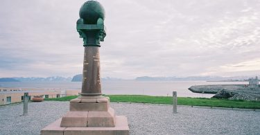 Meridian. Struve, Hammerfest, Leica M Elmarit 2.8 28 asph., Kodak Ektar