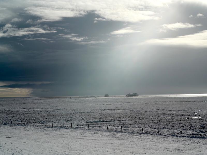 St Peter Ording Winter, Pahlbauten, Giftbude, Leica M APO 2.0 75mm asph