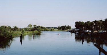 Eider bei Lexfähre, Flüsse in Schleswig-Holstein, Kodak Portra 160, Leica M Summilux 1.4 50 asph.