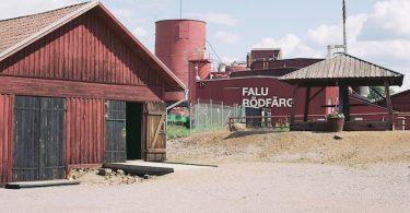 Falu Röd Färg, Falunrot, Schwedenrot, Kodak-Portra 160 |©mare.photo